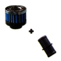 Kartergáz szűrő 20 mm Kék SIMOTA
